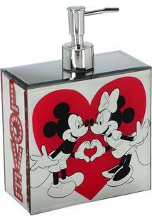 Dispenser Love Disneyâ® - Espelhado & Vermelho - 19,5Mabruk