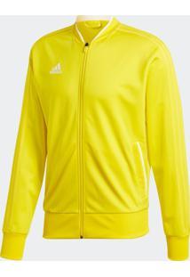 Jaqueta Adidas Con18 Pes Amarelo