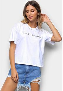Camiseta Ellus Sea Shepherd Feminina - Feminino