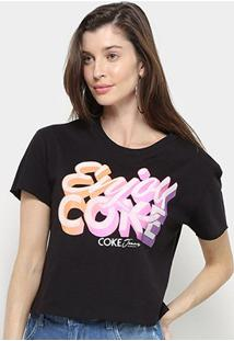 Camiseta Coca Cola Enjoy Coke Feminina - Feminino