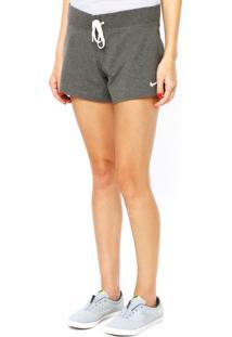 Bermuda Nike Sportswear Jersey Charcoal Heath Cinza