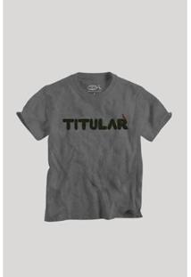 Camiseta Filho Titular Reserva Mini Infantil Masculino - Masculino-Preto