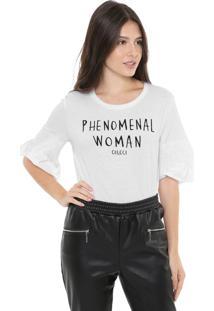 Camiseta Colcci Phenomenal Branca