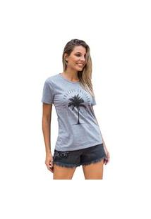 Camiseta Feminina Mirat Lost Paradise Mescla