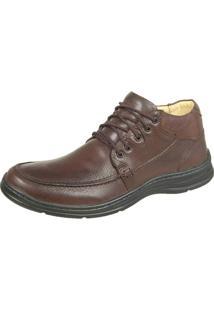 Sapato Bmbrasil Confort - Masculino-Café