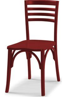 Cadeiras Para Cozinha Samara 83,5 Cm 911 Bordo - Maxima