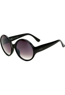 Óculos De Sol Marielas Yd1836 Feminino - Feminino-Preto
