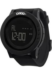 Relógio Dagg Digital Watch Gear Running Armor - Unissex-Preto