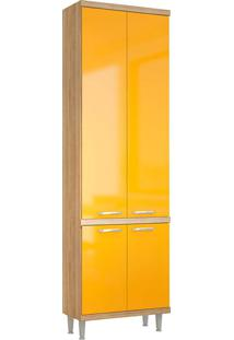 Paneleiro 5121 Sicília - Multimóveis - Argila Acetinado / Amarelo Gema