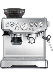 Cafeteira Elétrica Tramontina By Breville Express Pro Em Aço Inox Com Moedor 2 L