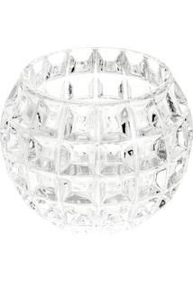 Vaso Rose Em Cristal- Cristal- 11Xø13Cm- Rojemacrojemac