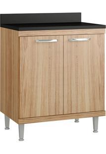 Armário De Cozinha Sicília Para Cooktop 2 Portas Argila - Multimóveis