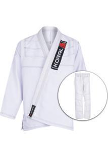 Kimono Jiu-Jitsu Koral One Bco - Adulto - Branco