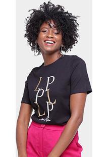 Camiseta Lança Perfume Estampada Lp Feminina - Feminino