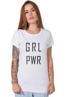 Camiseta Stoned Girl Power Feminina - Feminino