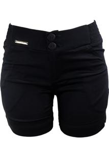 Short Bella Grife Social Preto