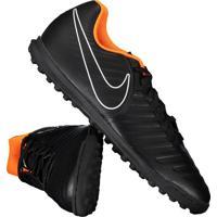 Chuteira Nike Tiempo Legend 7 Club Tf Society Preta 23f404695f8ef