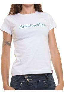 Camiseta Baby Look Oitavo Ato Cantareira - Feminino-Branco