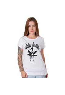 Camiseta Stoned Mary Jane Branca
