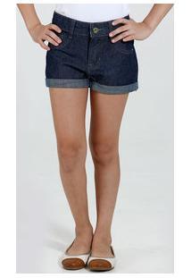 Short Infantil Menina Jeans Marisa