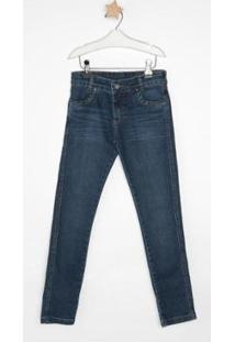 Calça Jeans Infantil Express Kiko Masculina - Masculino-Azul