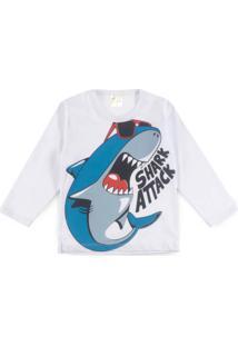 Camiseta Para Meninos Gola Redonda Tom Claro infantil  989e1e2a58bb7