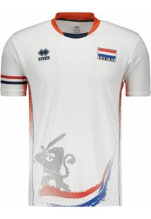 64d3ff0bf9761 Camisa Holanda Vôlei Third 2017 Errea Masculina - Masculino