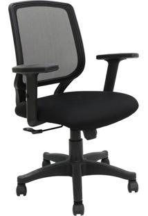 Cadeira Office Avila Preta Rivatti Móveis