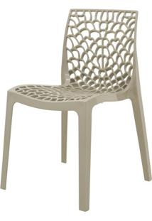 Cadeira Gruver Polipropileno Nude - 34336 - Sun House