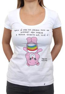 Carinha Fofa - Camiseta Clássica Feminina