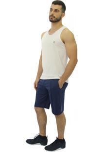 Regata Question Sport Em Dri-Fit Branca - Branco - Masculino - Poliamida - Dafiti