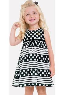 Vestido Infantil Milon Cetim 11704.9010.G