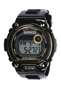 Relógio Analógico Speedo 81133L0 - Feminino - Preto/Ouro