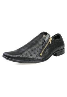 Sapato Social Envernizado Venetto Preto
