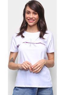 Camiseta Calvin Klein Logo Feminina - Feminino