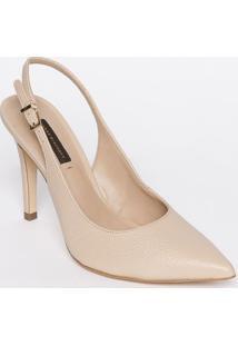 Sapato Chanel Em Couro - Rosê - Salto: 11Cmjorge Bischoff