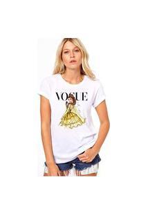 Camiseta Coolest Bella Vogue Branco