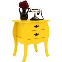 1124200fdf Mesa Lateral Premier Amarelo Com Brilho Patrimar