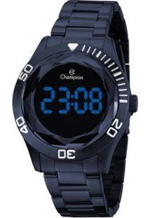 Relógio Champion Digital Ch48073A Feminino - Feminino-Azul