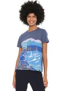 Camiseta Cantão Porto Azul