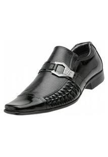 Sapato Social Venetto Trice Preto
