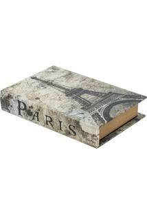 Livro Caixa France Bege