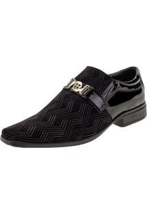 Sapato Masculino Social Bkarellus - 7054 Preto 37