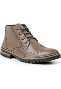 Bota Dress Boot Sandro & Co. Masculina - Masculino-Marrom-Claro