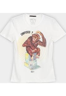 Camiseta Colcci Fun Infantil Confuseo? Masculina - Masculino