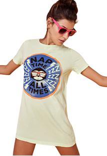 Camiseta T_Jama Estonada Jama Nap Time Verde