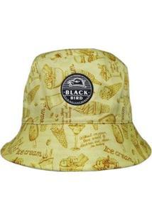 Chapéu Bucket Hats Black Bird Thb 44A Feminino - Feminino