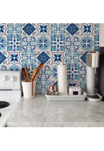 Adesivo De Azulejo Mix Portugal Azul