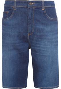 Bermuda Masculina Jeans - Azul