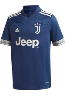 Camisa Infantil Adidas Juventus Ii Marinho/Bege - M